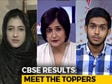 Video: Bus Driver's Son, Separatist's Daughter Ace CBSE Class 12