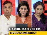 Video: Man Killed Over Alleged Cow Slaughter Rumour: Free Hand To Vigilantes?