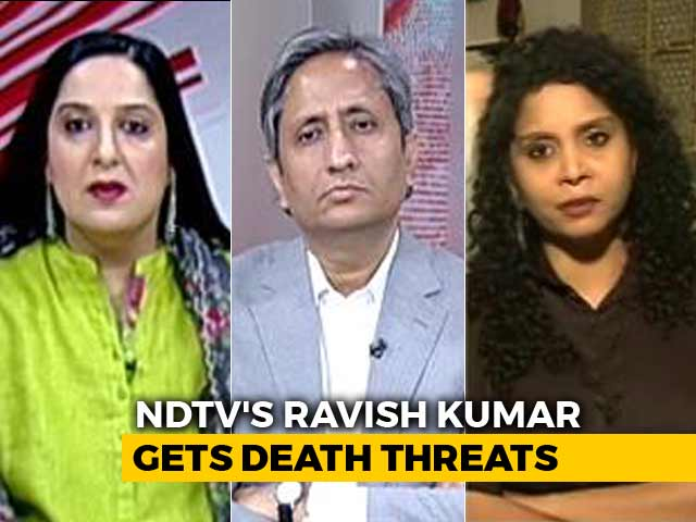 Video : Death Threats To Ravish Kumar: How Journalists Are Hounded