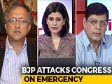 Video : On Emergency Of 1975, Arun Jaitley Compares Indira Gandhi To Hitler