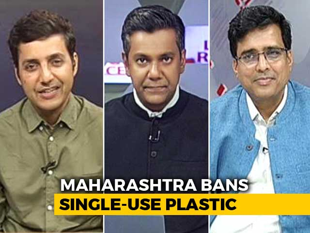 Video : Maharashtra's War On Plastic Use
