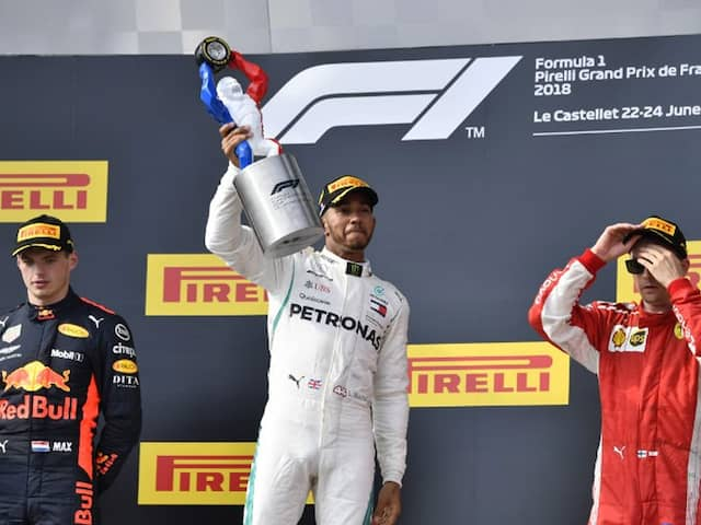 Lewis Hamilton Eases To French Grand Prix Win, Restores Championship Lead