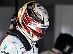 Mercedes' Lewis Hamilton Sets A Blistering Pace In French Grand Prix Practice