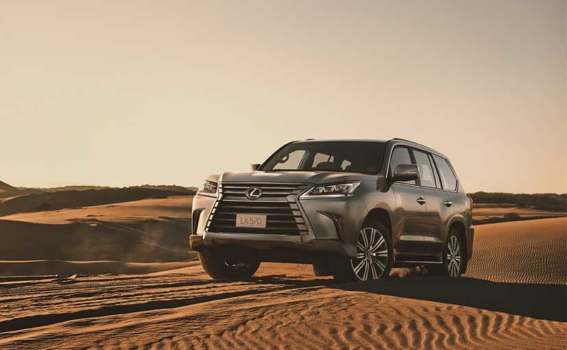 Bookings for the Lexus LX 570 have started at all of the company's showrooms in India
