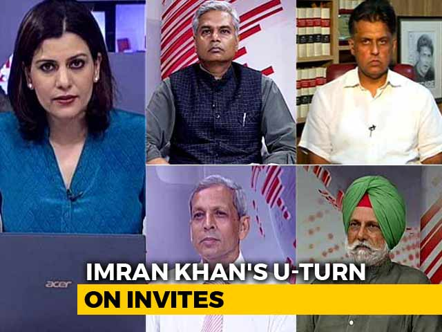 Video : Imran Khan's U-Turn On Invites For Oath Ceremony