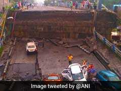 New Road Opens Up Near Kolkata Bridge Which Collapsed Last Month