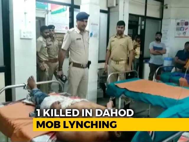 Video : Man Beaten To Death By Mob Over Suspicion Of Theft In Gujarat's Dahod