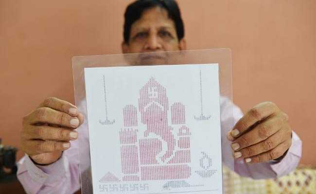 Mumbai Man Was Gifted Typewriter For Re 1. Now He Draws Portraits With It