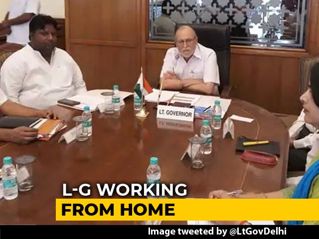 Video : Work From Home For Lt Governor As Arvind Kejriwal Continues To Protest