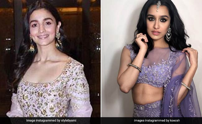 Shraddha Kapoor, Alia Bhatt And Other Celebs Who Are Loving Lilac This Season
