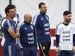 World Cup 2018: Don't Blame Lionel Messi, Pleads Argentina Manager Jorge Sampaoli