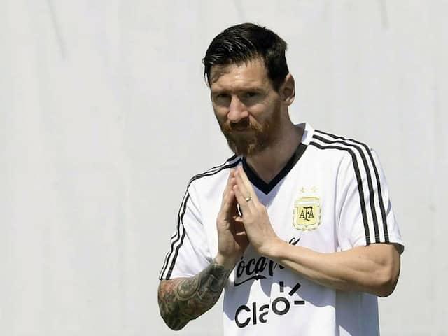 World Cup 2018: How A Lionel Messi Gesture Left An Argentine Journalist Stumped