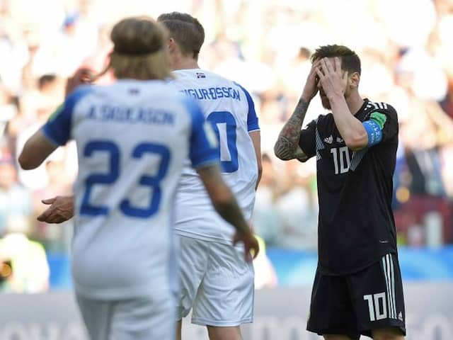 FIFA World Cup: Lionel Messi Misses Penalty As Iceland Hold Argentina For Famous Draw