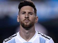 Burn Lionel Messi Shirts If He Plays Israel In Jerusalem: Palestine Football Boss