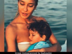 The Internet Hearts Lisa Haydon's Pic With Son Zack And So Do We