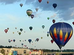 Lithuania Celebrates 100 Years Of Freedom With 100 Hot Air Balloons