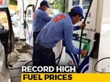 Video : Fuel Prices On Fire: Prices Scale Record Highs