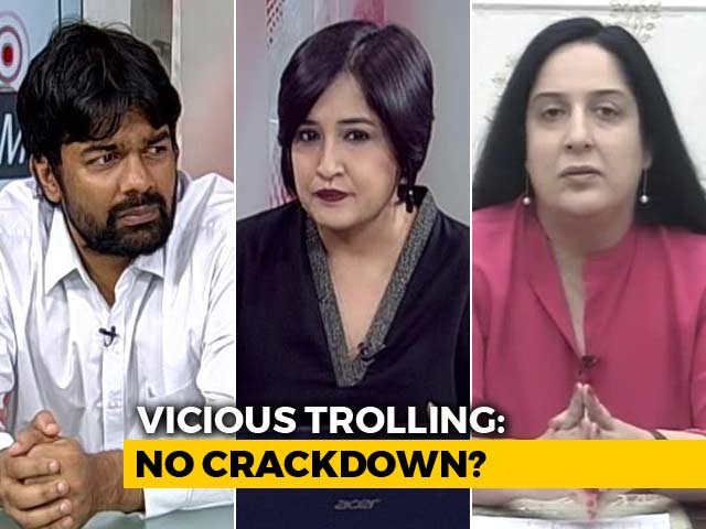 Video : No Crackdown On Vicious Trolling?