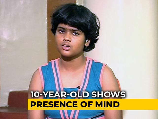 "Video : ""Remembered Tips From Grade 3"": Tiny Hero Saves Lives In Mumbai High-Rise Fire"