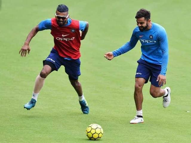 KL Rahul Shares Footage Of Virat Kohli Getting His Beard Insured