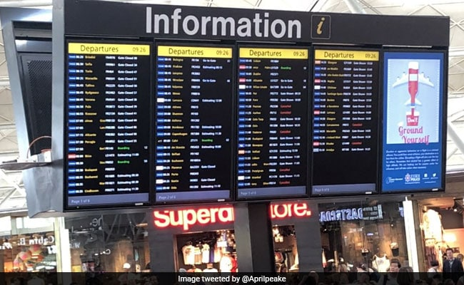 Flights Diverted, Cancelled At London's Stansted Airport After Disruptions By Lightning Strike