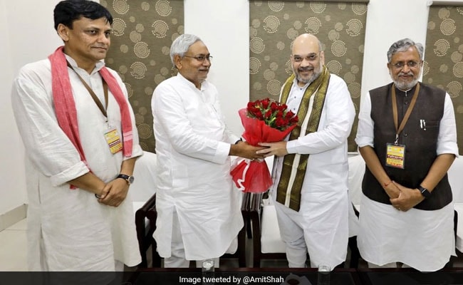 'Kite-Flying': Bihar Allies On BJP-Nitish Kumar's 50-50 Seat-Sharing Deal