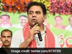 KT Rama Rao Among Telangana Leaders Filing Nomination On Last Day