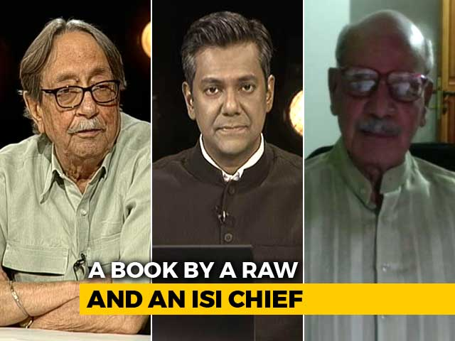 Video : India, Pakistan's Spy Masters' Tell-All