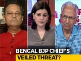 Video : Bengal BJP Chief's Shocker: Violence The New Normal In Political Discourse?