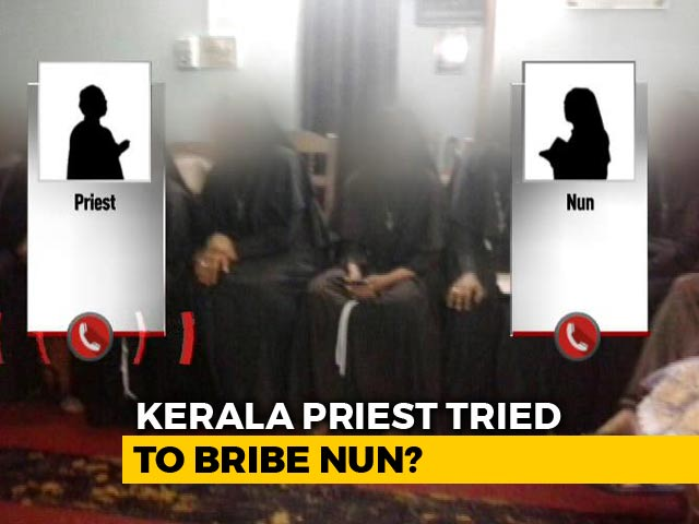"Video : ""Withdraw Sexual Abuse Charge, We Will Help..."": Priest Phones Kerala Nun"
