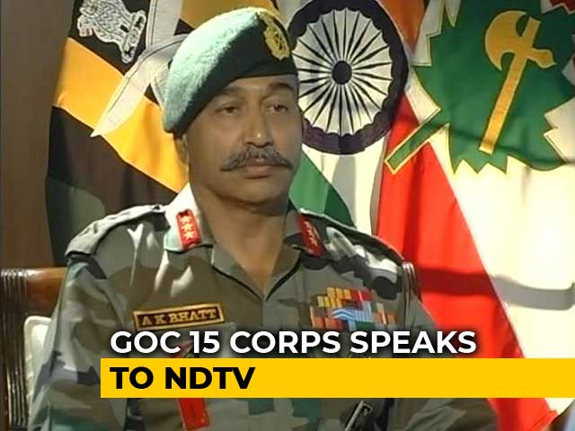 Video : Infiltration Attempts Every Night For A Month Now: Army's Kashmir Commander