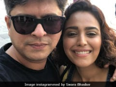 Trending: Pic From Swara Bhasker's Vacation With Boyfriend Himanshu Sharma Which She 'Forced' On Him