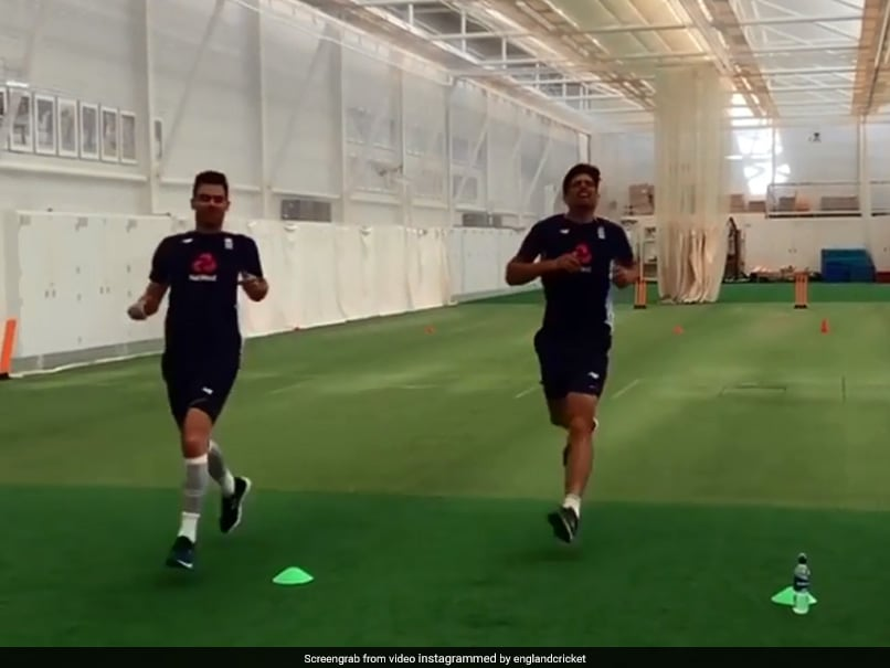 Watch: James Anderson, Alastair Cook Nail
