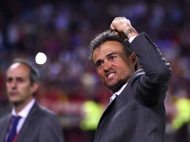 Former Barcelona Boss Luis Enrique Named New Spain Coach