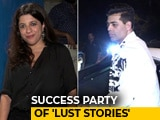 Video : Karan Johar, Zoya Akhtar & Others At The Success Party Of <i>Lust Stories</i>