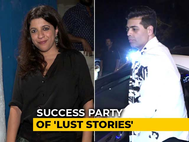 Karan Johar, Zoya Akhtar & Others At The Success Party Of Lust Stories