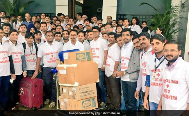 100 Doctors Leave From Maharashtra To Help Kerala Flood Victims