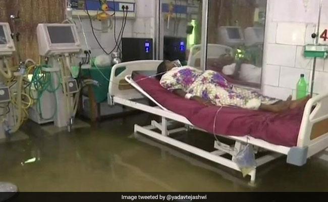 पटना के एनएमसीएच अस्पताल में घुसा पानी, RJD सांसद ने संसद में दिया स्थगन प्रस्ताव का नोटिस