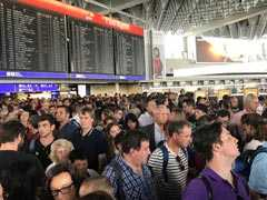 Parts Of Germany's Frankfurt Airport Evacuated After Security Breach