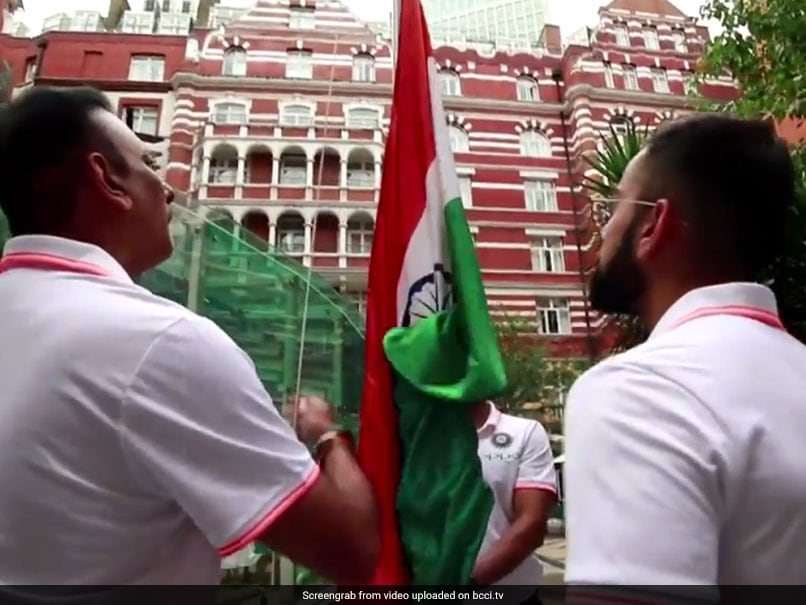 Watch: Team India Hoist National Flag In The UK, Celebrate Independence Day