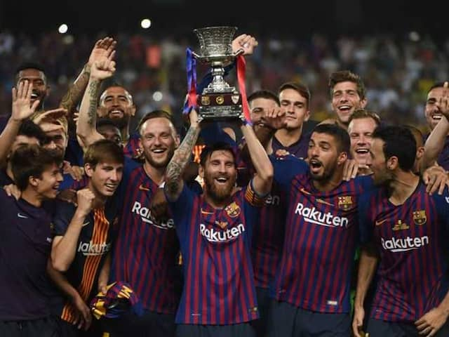 Barcelona Fight Back To Win Spanish Super Cup
