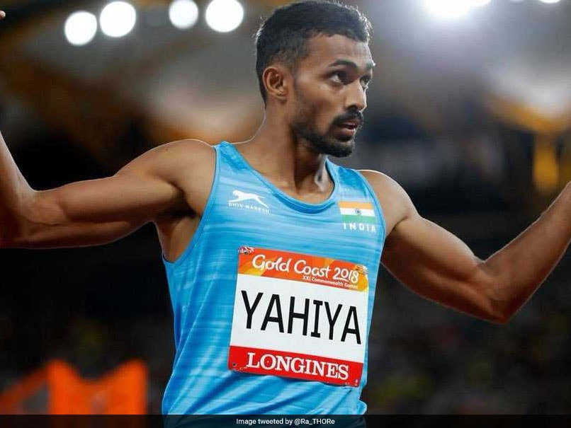 Asian Games 2018: Muhammed Anas Yahiya India