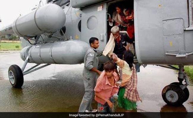 19 People Stranded In Flood-Hit Arunachal Pradesh Rescued By Air Force