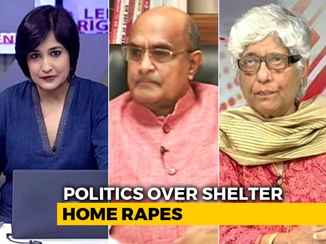 Video : Bihar Shelter Home Rapes: Politics Takes Over?