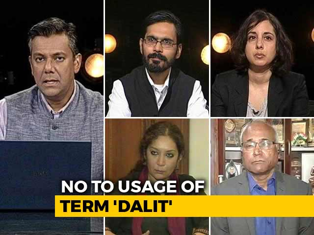 Video : Government To Media: Refrain From Using 'Dalit'