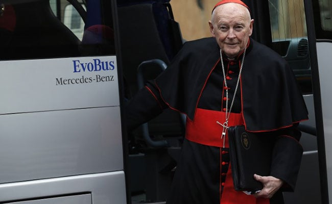 Cdl. McCarrick Resigns From College of Cardinals