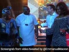 Watch Macron Loosen Up On Nigeria Trip With Visit To Legendary Nightclub