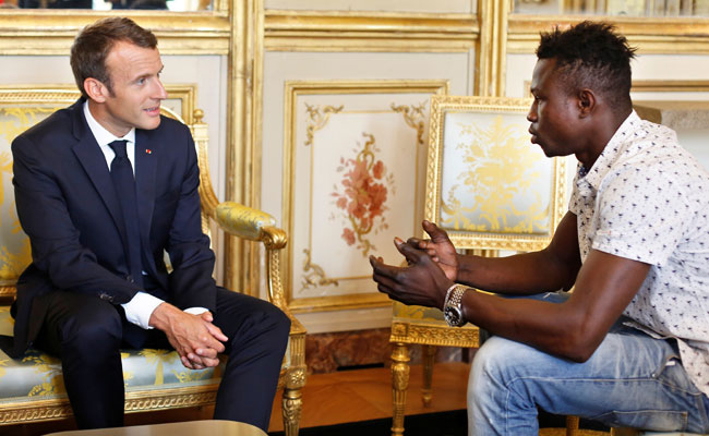 Malian Hero, Who Rescued Child, To Get French Citizenship And Job