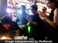 Madhavan Celebrates Birthday With Shah Rukh Khan And Anushka Sharma On The Sets Of <i>Zero</i>. See Pics