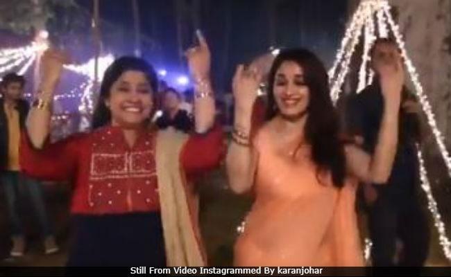 Trending: Madhuri Dixit And Renuka Shahane Recreate Lo Chali Main. Watch Video